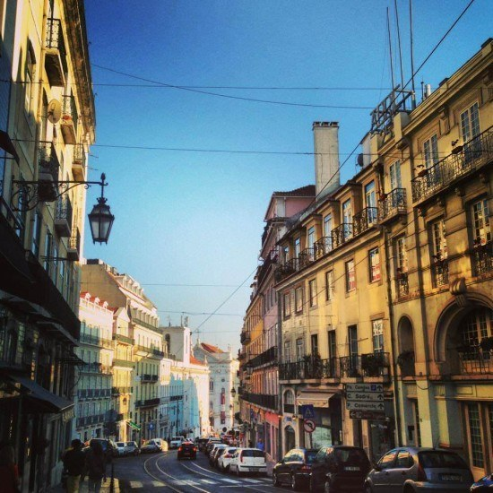 Lisbon is a pretty city, it really is!