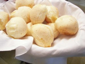 It's always time for Pão de Queijo (bread with cheese inside)