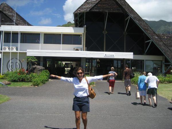 Moorea Airport French Polynesia
