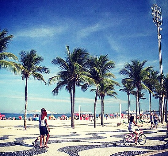 luxury weekend in rio de janeiro ipanema calcadao beach promenade