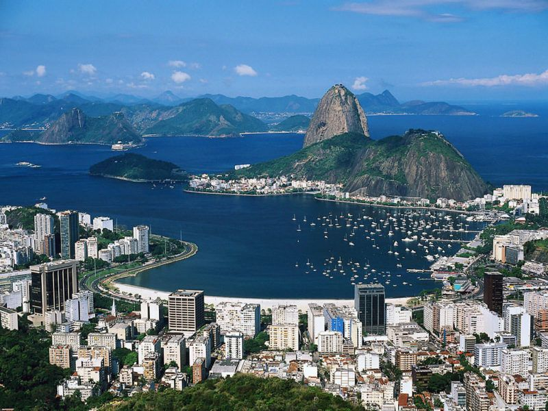 Not difficult to imagine yourself living in Rio de Janeiro