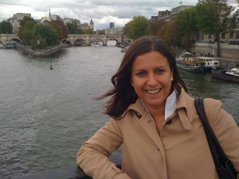 Mrs. O by the Seine