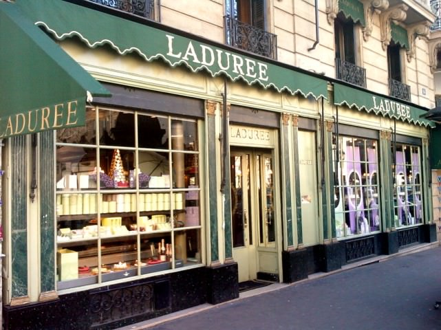 Ladurée on Rue Royale