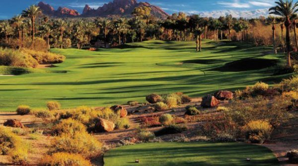 24 hours in Scottsdale Arizona phoenician - resort luxury collection canyon suites golf course
