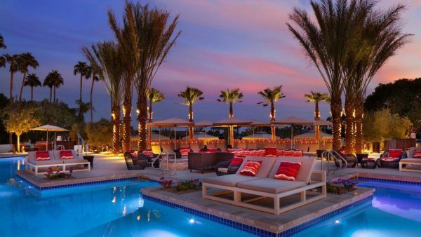 24 hours in Scottsdale Arizona phoenician - resort luxury collection canyon suites quiet pool