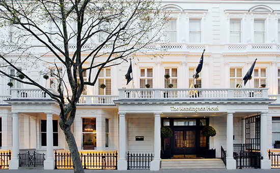 The stylish Kensington Hotel in London