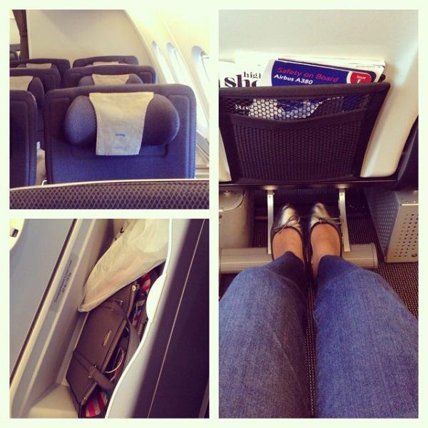 British airways premium economy (World Traveller Plus) seat