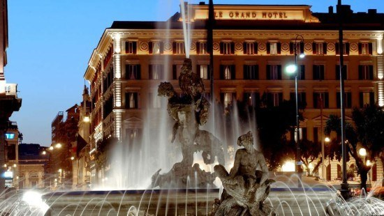 We will sleep like princesses at the St. Regis Rome...