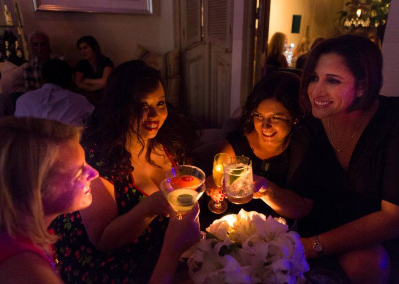 A fab girls night out at SUR in West Hollywood