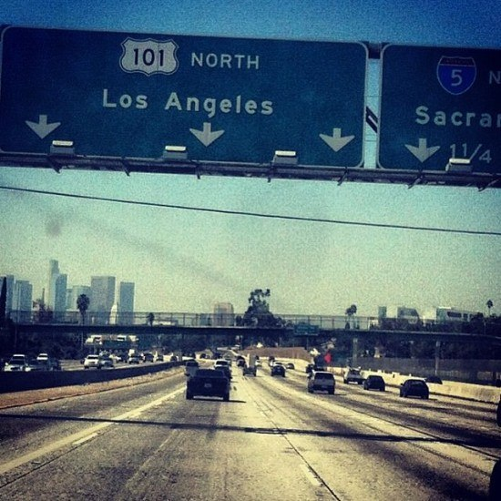 LA, baby!