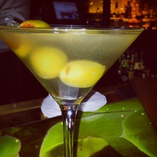 Very dirty martinis... loved them!