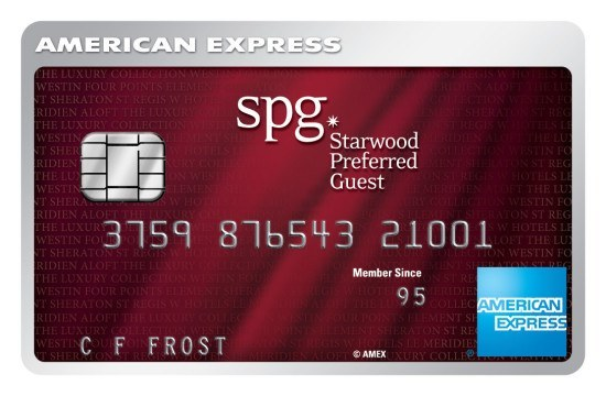 The AmEx SPG credit card