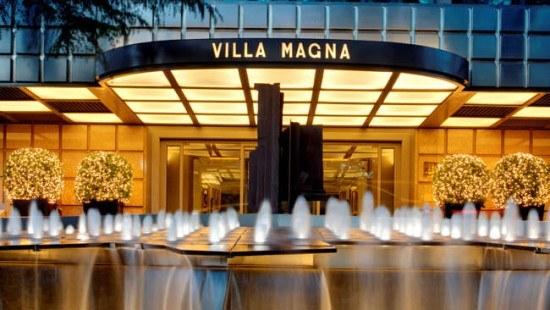 The Villa Magna in Madrid, Spain