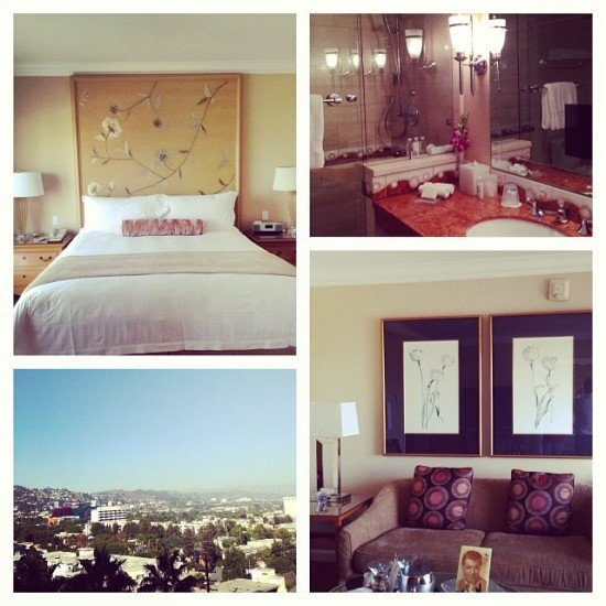 Mr. and Mrs. O loved the Four Seasons Los Angeles at Beverly Hills