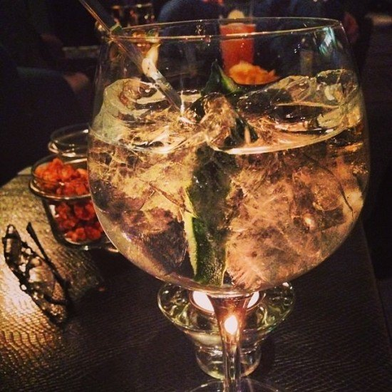 This is what I call a gin & tonic