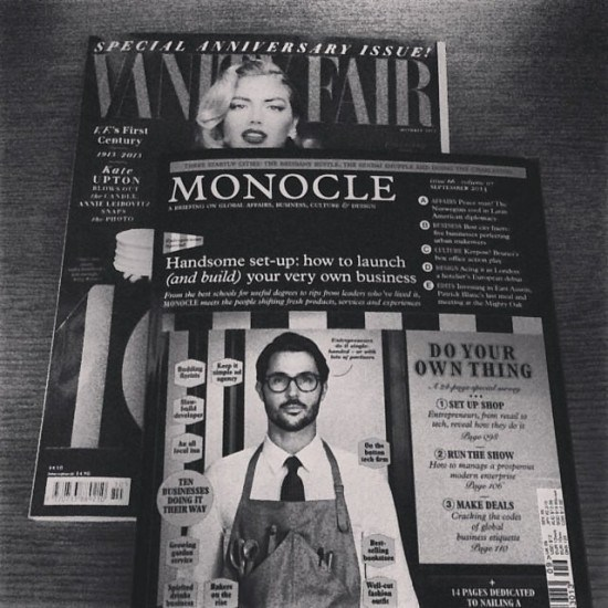 Vanity Fair and Monocle - I may refuse to leave the room