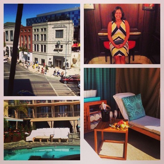 Mrs. O loved her stay at the Beverly Wilshire