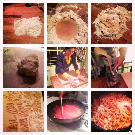 Want to make your own pasta? Just follow these very simple steps!