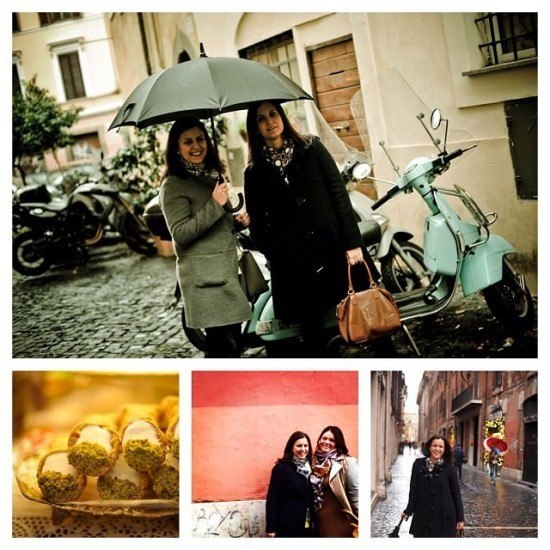 The girls about town. With a side of Cannoli. Photos by Flytographer.