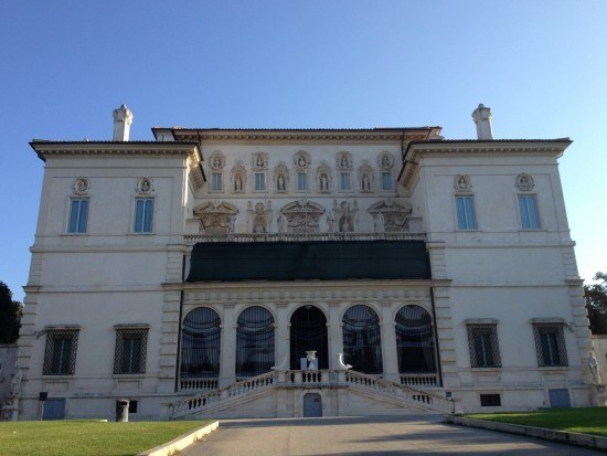 Villa Borghese (photo by Browsing Rome)