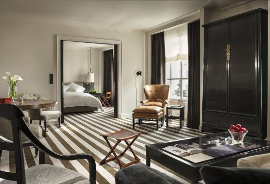 My stunning suite at the Rosewood London