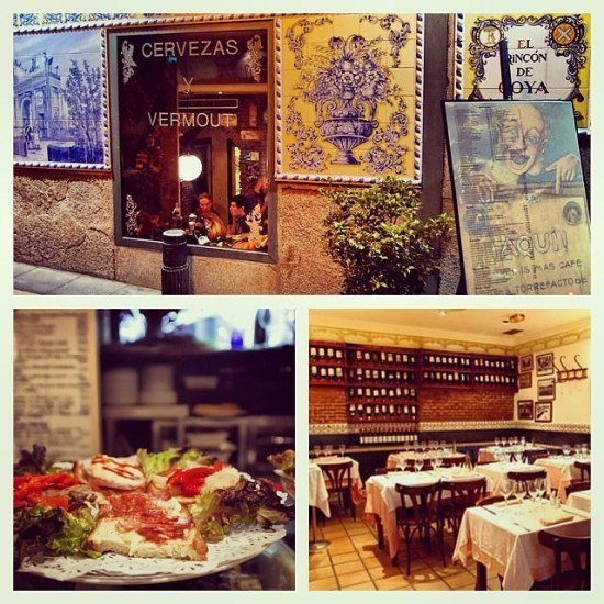 One of my favourite places in Madrid - El Rincon de Goya