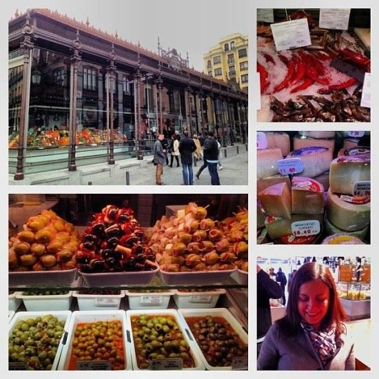 The Mercado de San Miguel, a must visit