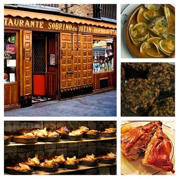 where to eat in madrid Sobrinos de Botin the oldest restaurant in Europe