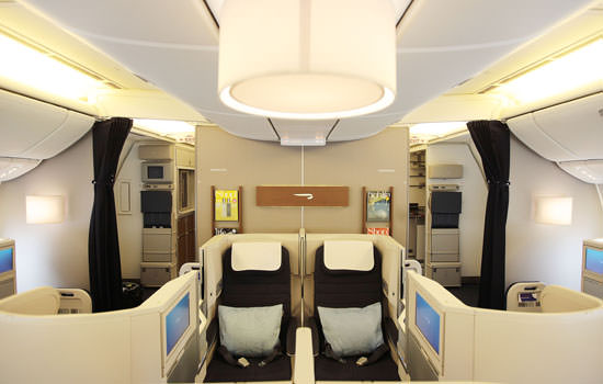 BA Business Class British Airways Club World cabin design