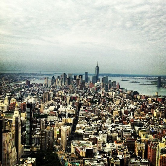 Empire State of Mind indeed! Fab views from the Observatory at the Empire State Building