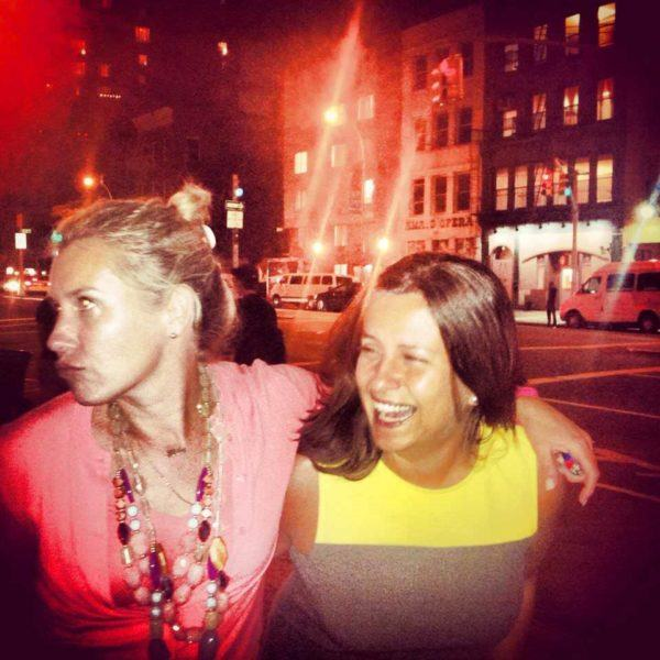 I was even lucky to see my good friend Lauren di Marco in NYC