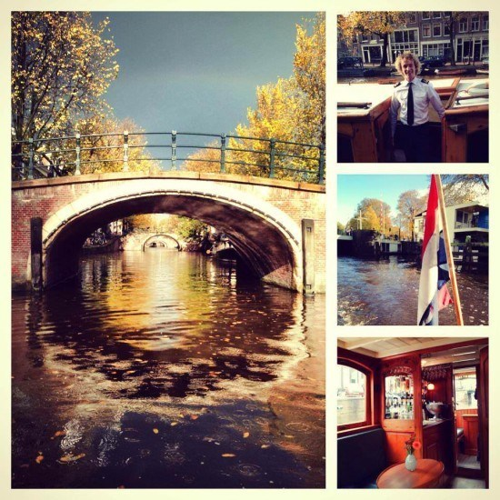 What a way to spend a morning! Loved our private canal tour!