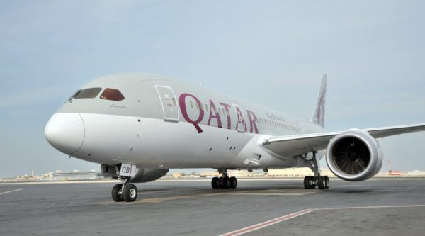 Flight review Qatar Airways Boeing 787 Dreamliner