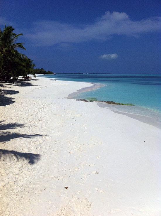 Our beach. Lovely.
