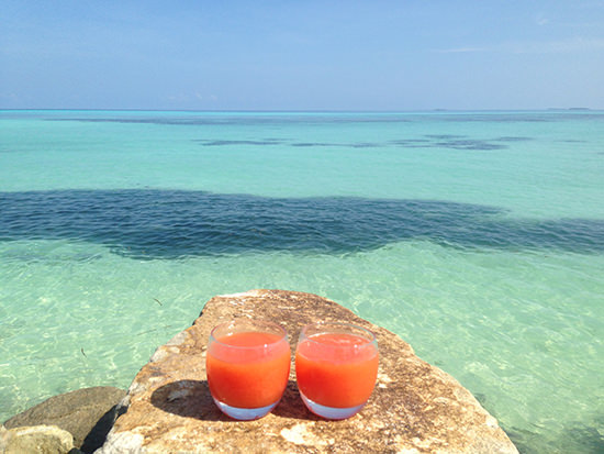 How is that for the perfect colour combination? At Lux Maldives