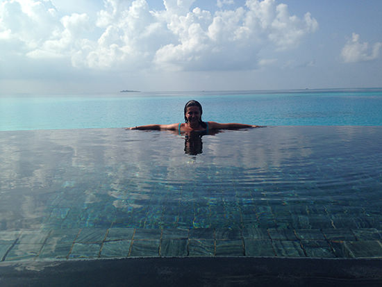 The Maldives make me very happy indeed!