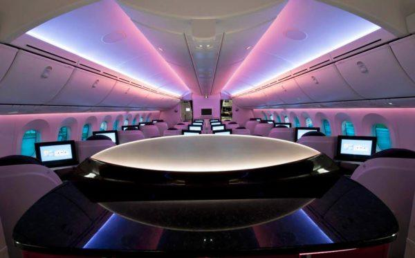 Qatar Airlines business class