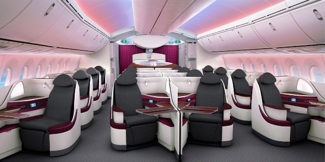 There is nothing like a new plane. Loved the cabin interiors of the Dreamliner