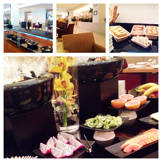 Qatar Airways Business Class lounge doha