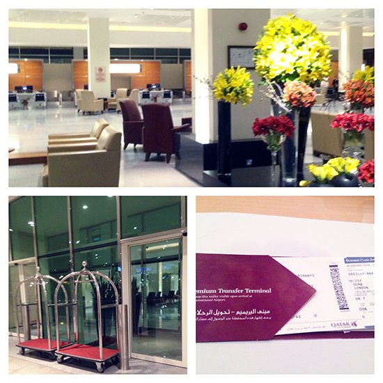 Fantastic first impressions on arrival at Doha's Premium Terminal