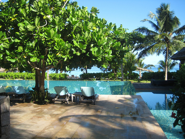 The Seychelles look wonderful from where I am right now...
