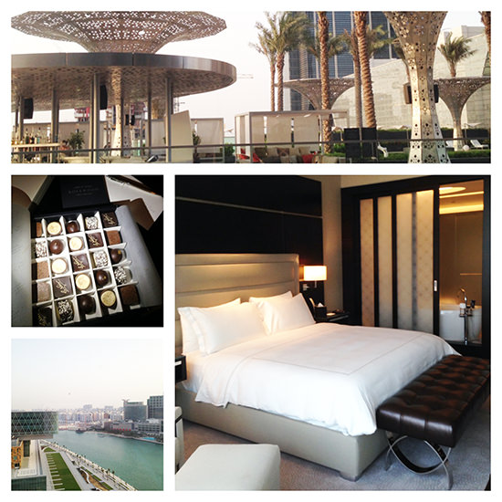 Loved loved loved the Rosewood Abu Dhabi