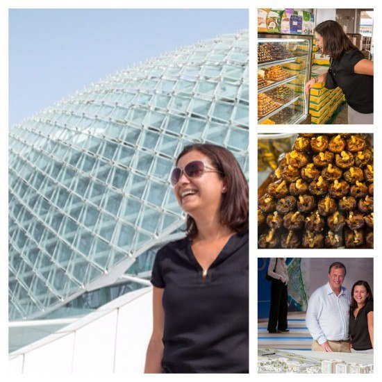 At Yas Island, Saadiyat and the date market. Photos by Bernard Thomson for Flytographer.