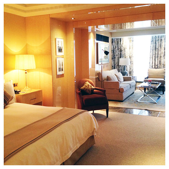 I loved loved loved my room at the Four Seasons London
