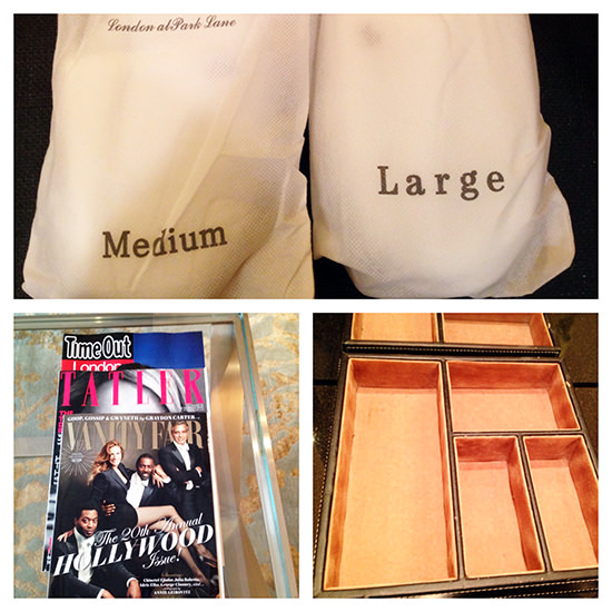 It is all about the details. Fab magazines and thank you for the jewellery box.