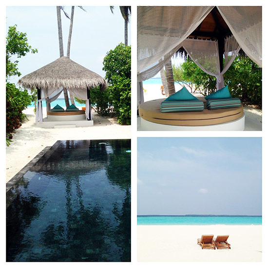 Our private pool villa was fantastic. Really great and I missed the sand!