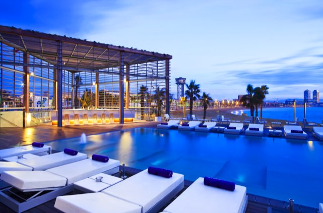 The hotel that brought a beach to Barcelona