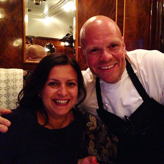 Tom Kerridge was really nice and it was a pleasure to meet him.