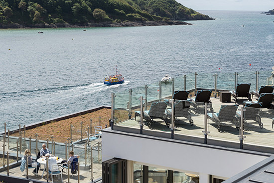 Welcome to Salcombe! What a view!