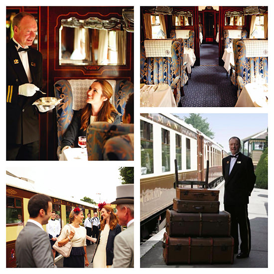 A fantastic day out in the UK for two on board the Belmond British Pullman.